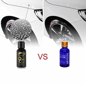 9H Keramik Versiegelung, Greyghost Nano Versiegelung Auto Hightech Lackschutz, Mr Fix 9H Nano Keramikversiegelung Auto Ceramic Coating Kratzer - 2