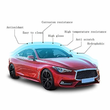 9H Keramik Versiegelung, Greyghost Nano Versiegelung Auto Hightech Lackschutz, Mr Fix 9H Nano Keramikversiegelung Auto Ceramic Coating Kratzer - 6