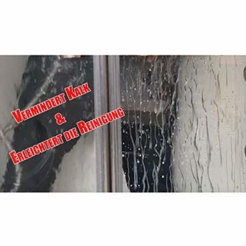 Cleanglas Nanoversiegelung Dusche Bad Fenster Set L Glasversiegelung Inkl. Vorreiniger Dusche Stark Kein Abzieher nötig Nano Glas Versiegelung Fenster Putzen Mit Lotuseffekt (L bis zu 72m2) - 3