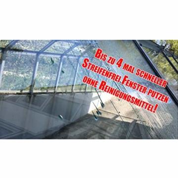 Cleanglas Nanoversiegelung Dusche Bad Fenster Set L Glasversiegelung Inkl. Vorreiniger Dusche Stark Kein Abzieher nötig Nano Glas Versiegelung Fenster Putzen Mit Lotuseffekt (L bis zu 72m2) - 7