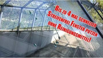 Cleanglas Nanoversiegelung Dusche Bad Fenster Set S Glasversiegelung Inkl. Glasreiniger Dusche Stark Kein Abzieher nötig Nano Glas Versiegelung Fenster Putzen Mit Lotuseffekt (S bis zu 24m2) - 2