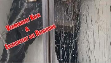 Cleanglas Nanoversiegelung Dusche Bad Fenster Set S Glasversiegelung Inkl. Glasreiniger Dusche Stark Kein Abzieher nötig Nano Glas Versiegelung Fenster Putzen Mit Lotuseffekt (S bis zu 24m2) - 4
