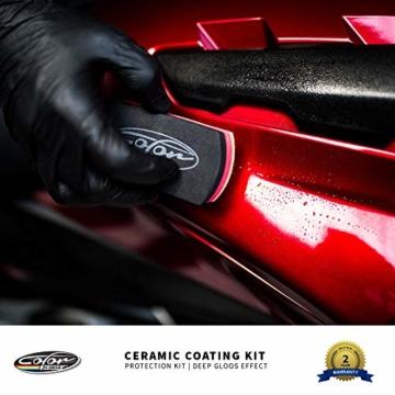 Color N Drive 9H Auto Keramik Versiegelung und Schutzset, hochglanz - 11