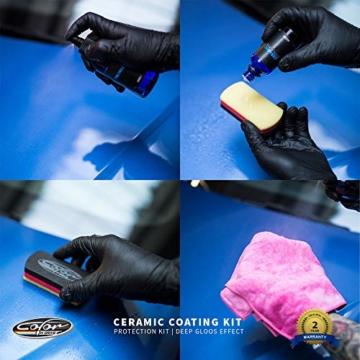Color N Drive 9H Auto Keramik Versiegelung und Schutzset, hochglanz - 5