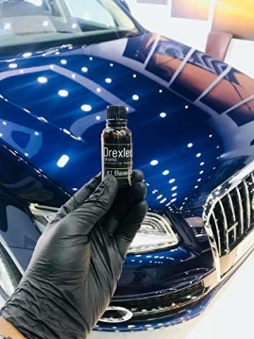 Drexler Ceramic Coating Kit 30ml + 50ml 3-5 yrs Car Protect Keramische Beschichtung 9H Pro - 7