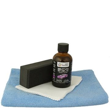 Liquid Elements Eco-Shield Set mit Auftragetüchern, Applicator-Block und DFT Microfasertuch - 1