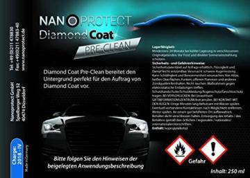Nanoprotect Diamond Coat   Hochglanz Keramikversiegelung 9H   Lackversiegelung der nächsten Generation   Komplettes Set inkl. Reiniger und Spezialtücher - 5