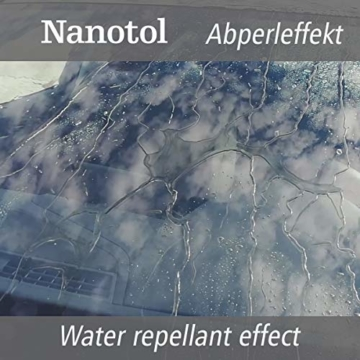 Nanotol Auto, Boot, Freizeit Protector 250 ml (40 m²) - Nanoversiegelung (Step 2) für Lack, Felgen, Autoglas - Glanzversiegelung Lackpflege Lotuseffekt Keramik-Polymer-Hybrid-Beschichtung - 2