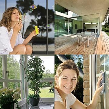Nanotol Nanoversiegelung-Set für Fenster und Haushalt - spart 50% Reinigungszeit beim Fenster putzen - Haus-Set M (40 m²) + Auffrischer Nanotol Haushalt 2in1 - 3