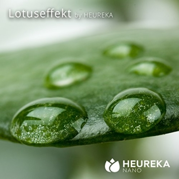 Profi Glas & Keramik Nano Versiegelung Set von HEUREKA mit Lotuseffekt (bis 20m²) - 2